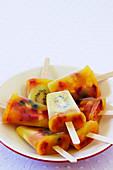 Fruit Salad Pops