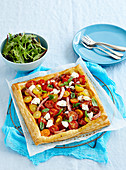 Ham and Tomato Tart