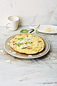 Ham omelette (low carb)