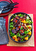 Asian Char Siu Pork Salad