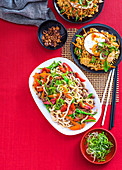 Korean Beef and Noodle Stir-fry