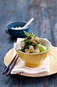 Ginger Fish Stir-fry