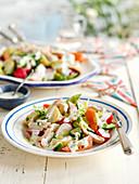 Hähnchensalat mit Estragon-Dressing (England)