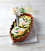 Soused Zucchini with Eggs