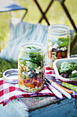 Summer saladin-a-jar