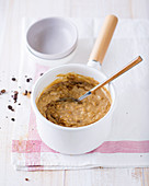 Spicy coffee rice pudding