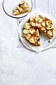 Potato and caramelised onion cake