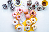 10 ways with sweet doughnuts