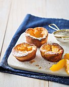 Peachy yorkshire puddings