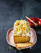 Lemon and honey tea loaf