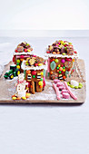 Gorgeous gingerbread village