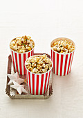 Christmas with Woman s Day - Extra-Special Santa Snacks - Sugar & Spice Christmas Popcorn