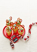 Christmas with Woman s Day - Extra-Special Santa Snacks - Reindeer Munchie Cones