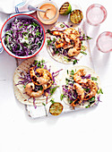 Christmas with Woman s Day - Delicious ways with Prawns - Firecracker Prawns Tortillas