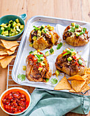 Baked Potatoes with Goulash