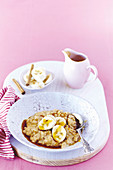 Spiced Rice Pudding with Banana