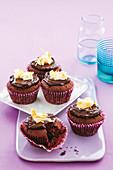 Chocolate beetroot cakes