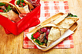 Beef and Tabouli Wraps