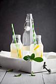 Switchel: Diätlimonade mit Apfelessig, Ingwer, Zitrone und Honig