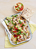 Mexican Corn Rice Salad