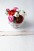 Buttercups in a vase