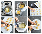 Preparing Profiteroles