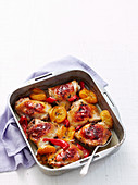 Apricot Chicken Bake