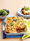 Mushroom and Cheese Lasagne