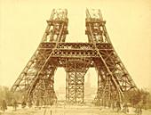 Eiffel Tower construction, 1888