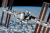 ISS inflatable habitat, illustration