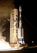 Final Ariane 4 launch, 2003