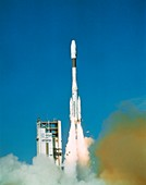First Ariane 4 launch, 1988