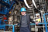 Murray Gell-Mann at CERN, January 2012
