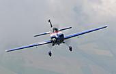 Prototype light aircraft