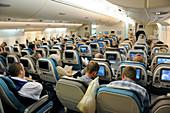 Airbus A380-800 economy class cabin
