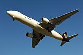 Boeing 767-300 freighter in flight