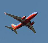 Boeing 737-700 in flight