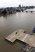 Battersea Heliport, London, UK