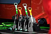 Racing car transport dollies