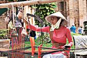 Clothing loom worker, Vietnam