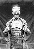 Protective armour and goggles, First World War