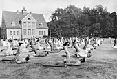 German amputee rehabilitation, First World War