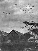 German air raid over London, First World War