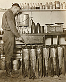 Incendiary bomb production, First World War
