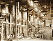 Chloropicrin gas factory, Edgewood Arsenal, First World War