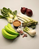 Fruit and vegetables that support the microbiome