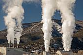 Gypsum plasterboard factory, Colorado, USA