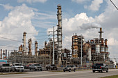 LyondellBasell oil refinery, Houston, USA