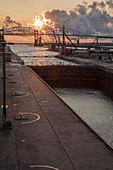 Soo Locks, Michigan, USA