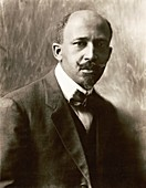 W. E. B. Du Bois, US sociologist and civil rights activist